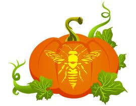 #16 for Illustrate Something for Honey Bee carved into a Pumpkin by RedPhoenix2123