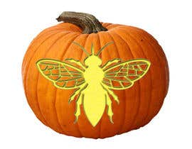 #23 for Illustrate Something for Honey Bee carved into a Pumpkin by lukmanmd