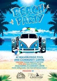 Nro 17 kilpailuun Design a Flyer for Community beach Party käyttäjältä skmamun