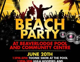 #16 untuk Design a Flyer for Community beach Party oleh teAmGrafic