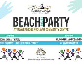 #4 untuk Design a Flyer for Community beach Party oleh Gugunte