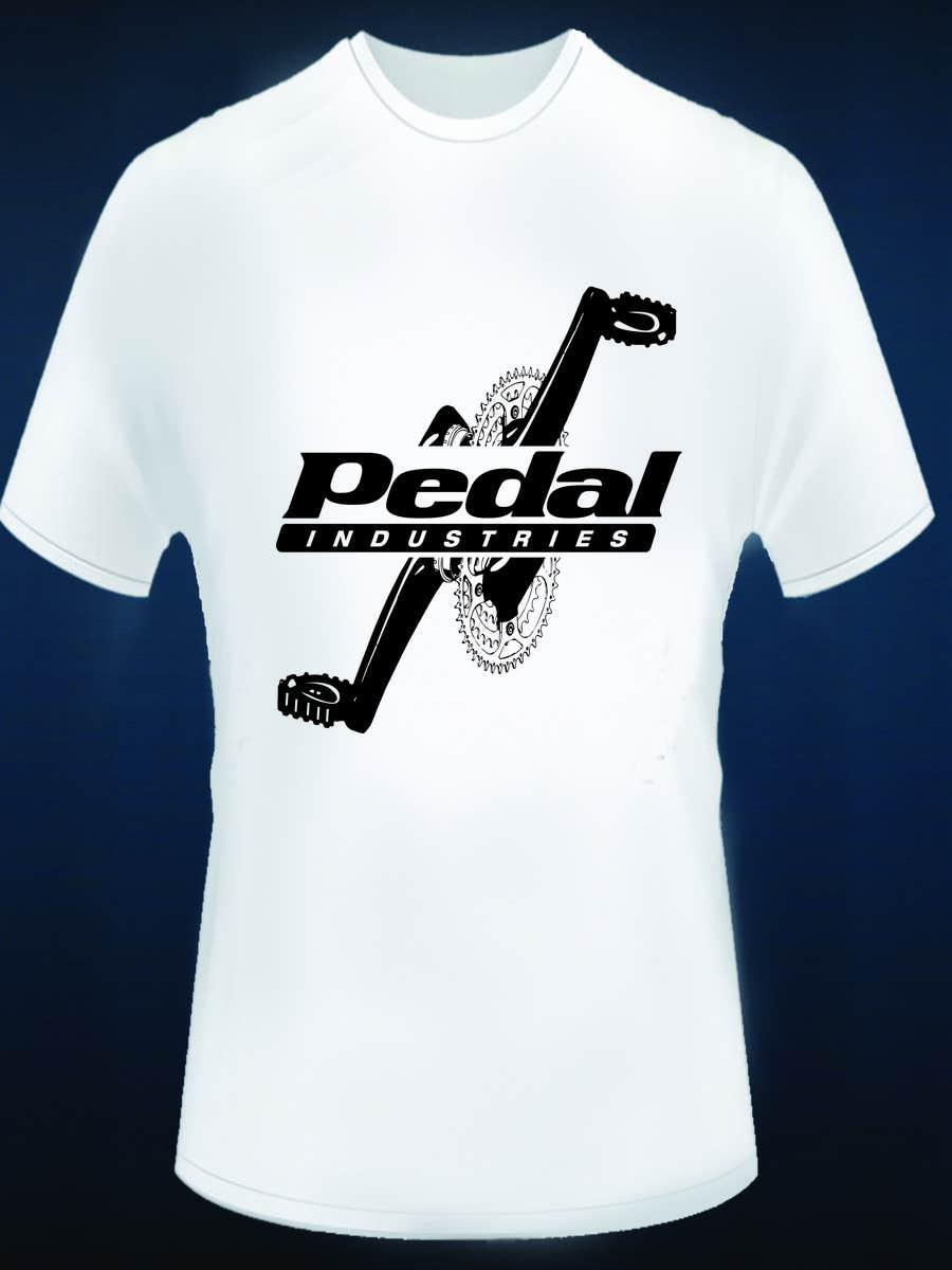 Penyertaan Peraduan #21 untuk Design a T-Shirt for Pedal Industries