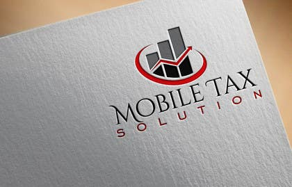 #20 for Design a Logo for Mobile Tax Solution af olja85