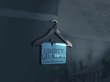 """olja85 tarafından Design a Logo for """"Liberty Laundry"""" için no 19"""