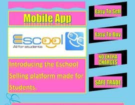 #17 for Poster design for Escool phone app af faizmajeed