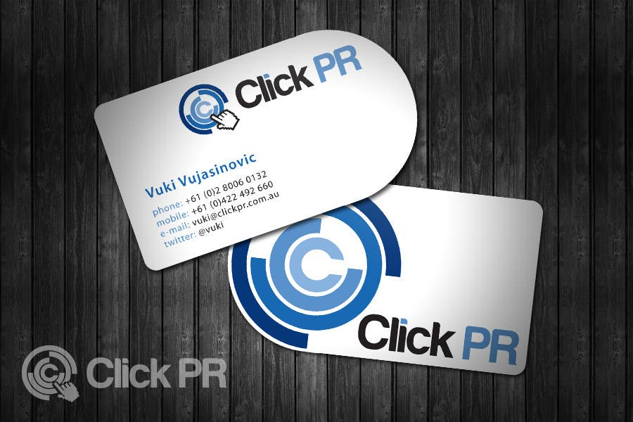 Entry 28 By Topcoder10 For Business Card Design For Click Pr