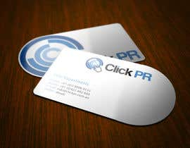 #2 для Business Card Design for Click PR от topcoder10
