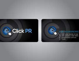 #134 για Business Card Design for Click PR από eliespinas