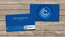 Graphic Design Contest Entry #206 for Business Card Design for Click PR