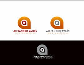 #57 untuk Design a Logo for Alejandro Avilés Media Solution oleh rueldecastro