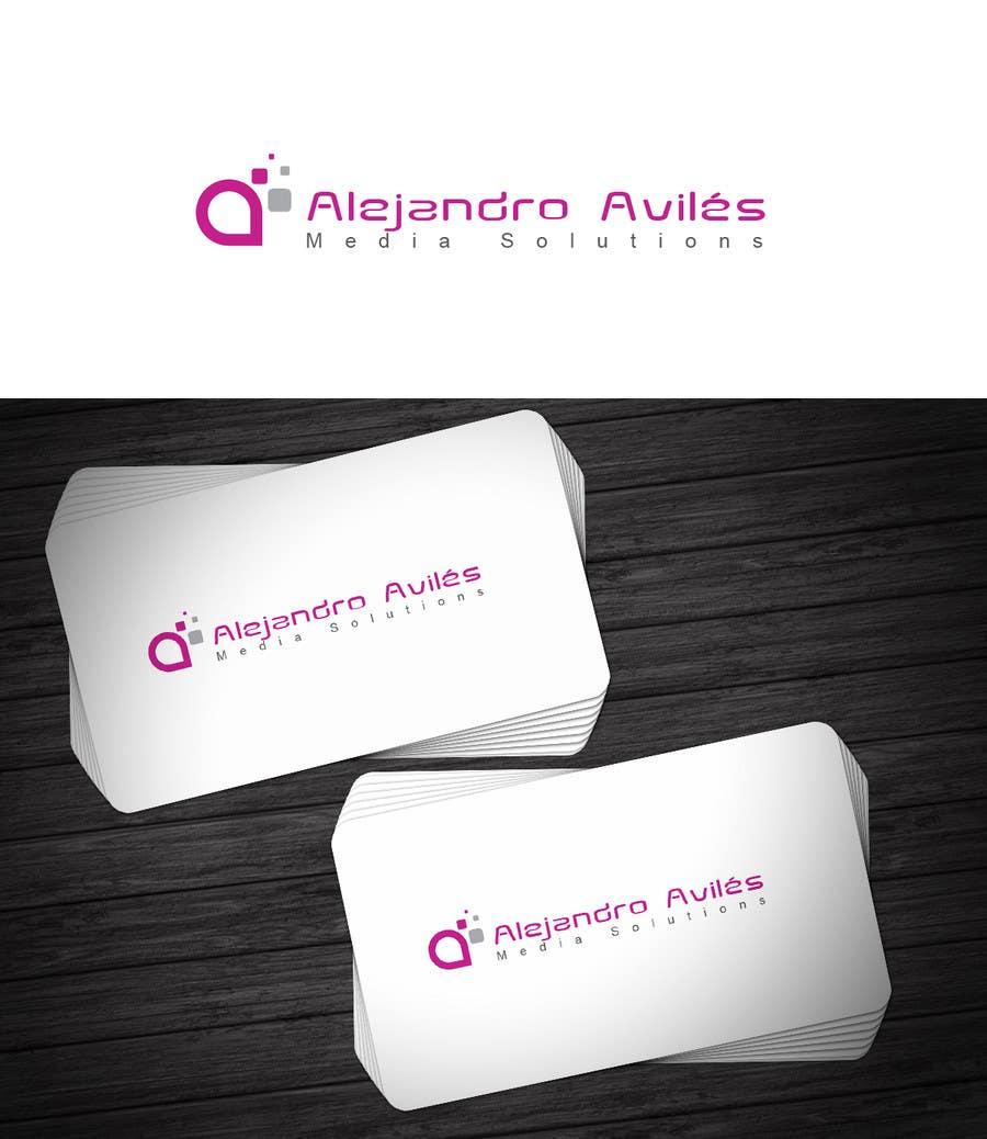 Bài tham dự cuộc thi #                                        42                                      cho                                         Design a Logo for Alejandro Avilés Media Solution