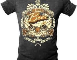 Nro 8 kilpailuun Design a brewery t-shirt käyttäjältä mj956