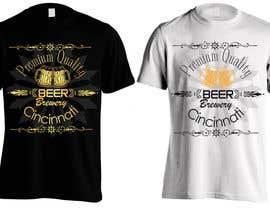 #5 untuk Design a brewery t-shirt oleh Bugz318