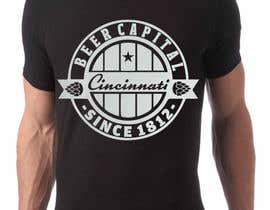 pactan tarafından Design a brewery t-shirt için no 12