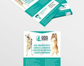 Nro 8 kilpailuun Dog Obedience Flyer Design käyttäjältä batia