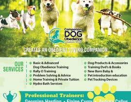 Nro 29 kilpailuun Dog Obedience Flyer Design käyttäjältä batia