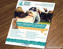 Nro 20 kilpailuun Dog Obedience Flyer Design käyttäjältä mhossainsujon