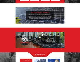 #20 untuk Website Homepage design for a corporate group -- 2 oleh Ankur0312