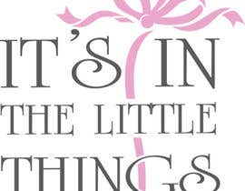 "#66 para ReDesign a Logo for ""It's In The Little Things"" por nataline8730"