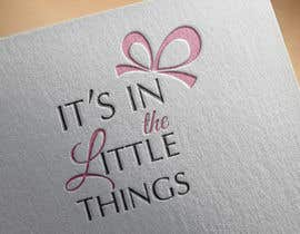 "#84 para ReDesign a Logo for ""It's In The Little Things"" por nataline8730"