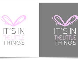 "#77 untuk ReDesign a Logo for ""It's In The Little Things"" oleh indraDhe"