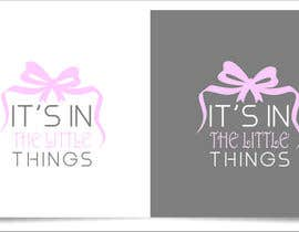 "#81 untuk ReDesign a Logo for ""It's In The Little Things"" oleh indraDhe"
