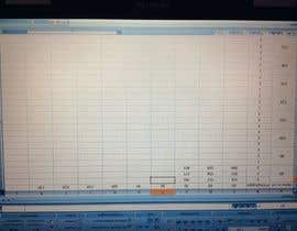 #9 for 14 Blätter aus pdf in Excel übertragen af samanthao1