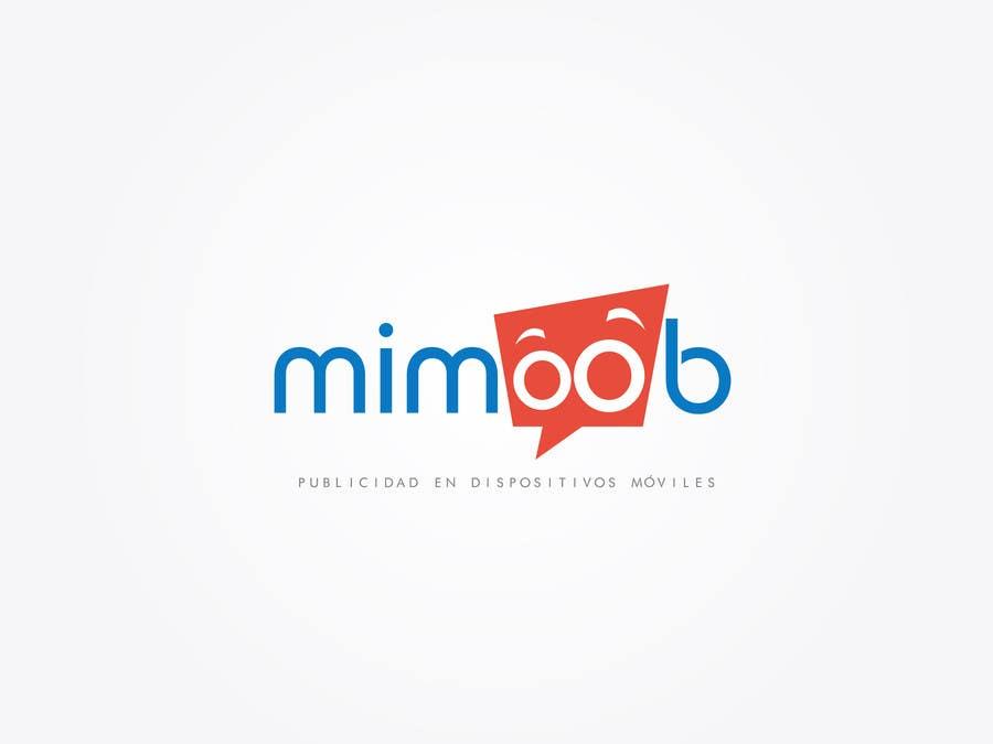 Penyertaan Peraduan #14 untuk Diseñar un logotipo para mimoob / Design a logo for mimoob