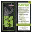 Graphic Design Inscrição do Concurso Nº3 para Design a DL Flyer for Tennis Club