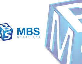 #6 cho Design a 3D Logo for mbs bởi ahsandesigns