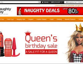 #11 for Design a Banner for My Adult Website (Queens Birthday Sale!) by Atletikos