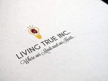 #233 untuk Design a Logo for  Living True Inc oleh chubbycreations