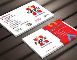 #156 para Business Cards for Hurlburt por Derard
