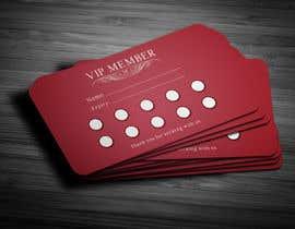 Nro 17 kilpailuun Design a Loyalty Card for Vocal School käyttäjältä anikush