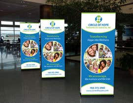 #9 untuk Design a Banner for Circle Of Hope Therapeutic Services, Inc oleh Dezign365web