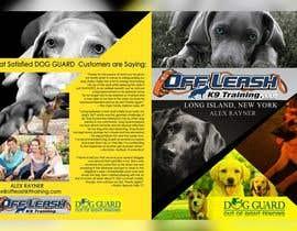 Nro 4 kilpailuun Design a Brochure for OLK9/DogGuard käyttäjältä kimberlykaye04