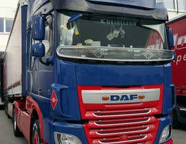#8 para Alter some images -- add logo on trucks por DanteRH