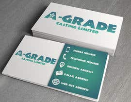 truegameshowmas tarafından Design some Business Cards for A-Grade Castings Limited için no 5