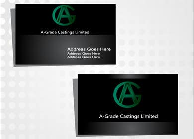 selinayilmaz1 tarafından Design some Business Cards for A-Grade Castings Limited için no 9