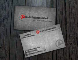 #2 untuk Design some Business Cards for A-Grade Castings Limited oleh LukeVyner