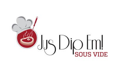 Nro 23 kilpailuun Develop a Corporate Identity for 'Jus Dip Em!' käyttäjältä fisekovic