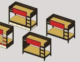 #13 untuk IKEA Bunk Bed Hackathon - Mid Century Modern oleh carvcecilia