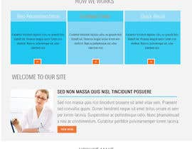 #14 untuk Design a Website Mockup for my health website - Auto-med oleh azzaldesigns