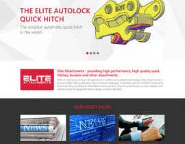 #26 for Design a Website Mockup for Elite Attachments Website af thewolfmenrock