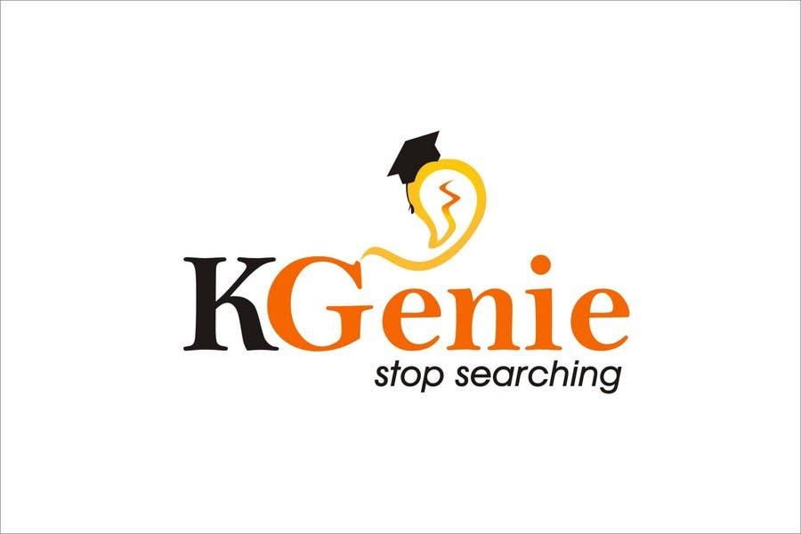 Конкурсная заявка №                                        486                                      для                                         Logo Design for KGenie.com