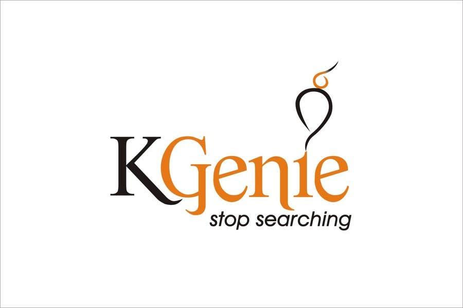 Конкурсная заявка №                                        557                                      для                                         Logo Design for KGenie.com