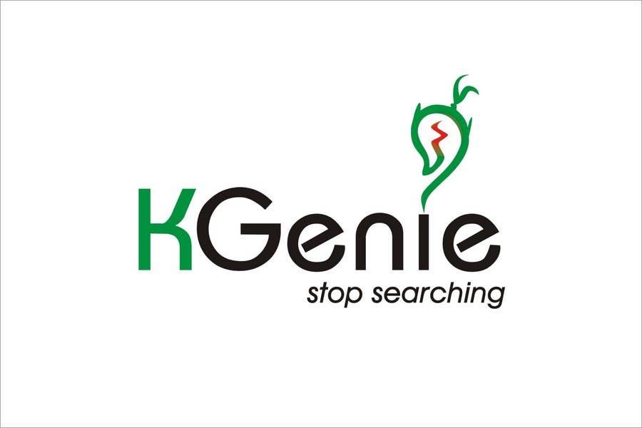 Конкурсная заявка №                                        504                                      для                                         Logo Design for KGenie.com