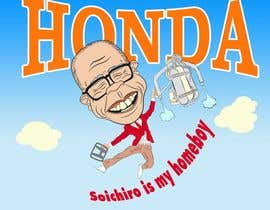 #58 for Design a vector graphic that celebrates Soichiro Honda. af jabatus79