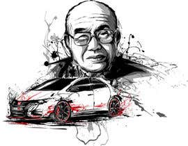 #51 untuk Design a vector graphic that celebrates Soichiro Honda. oleh secondsyndicate