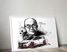 #55 untuk Design a vector graphic that celebrates Soichiro Honda. oleh secondsyndicate